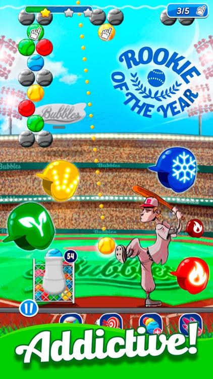 Baseball Bubble Shooter