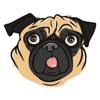 Pugoji Pug Stickers