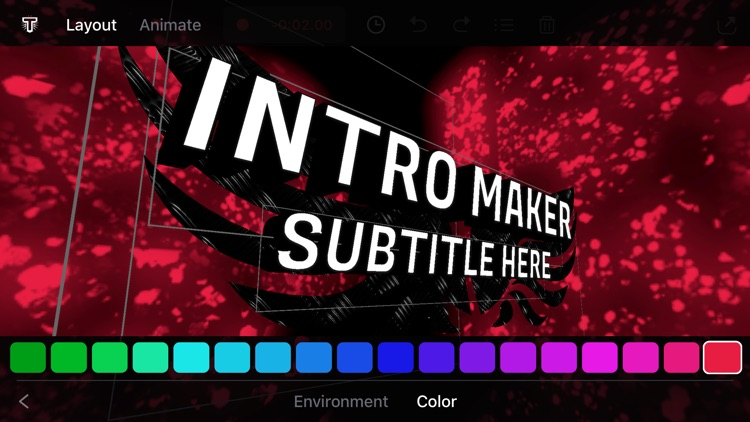 T-Jam Live Intro Movie Maker screenshot-3