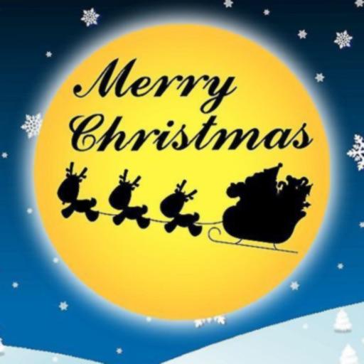 Christmas Logo style camera