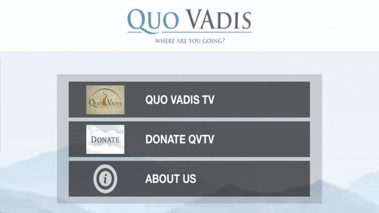 QVTV - Quo Vadis Ministry screenshot-4