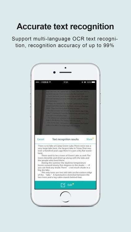 pdf scanner - WordScanner