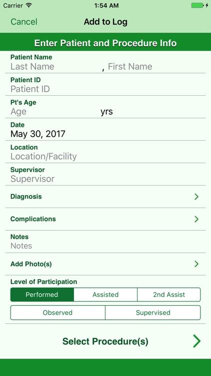 Procedure Log screenshot-3