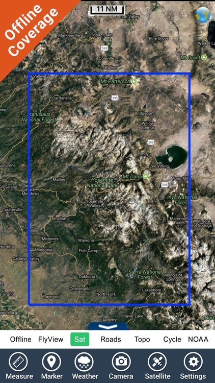 Yosemite National Park - GPS Map Navigator screenshot-4