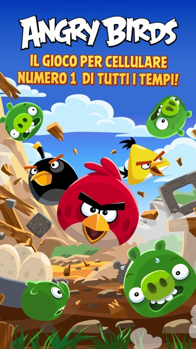 angry birds per cellulare
