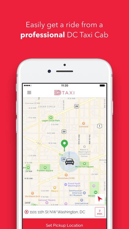 DC TaxiApp for Riders