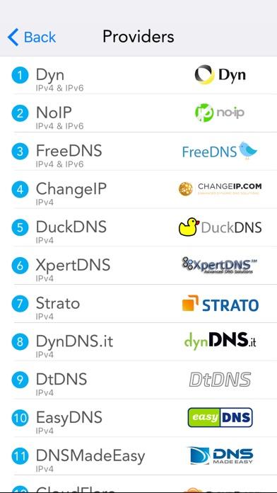 RealDNS - Dynamic DNS Screenshots
