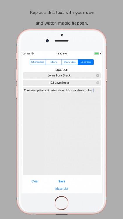 Scripto Idea screenshot-3