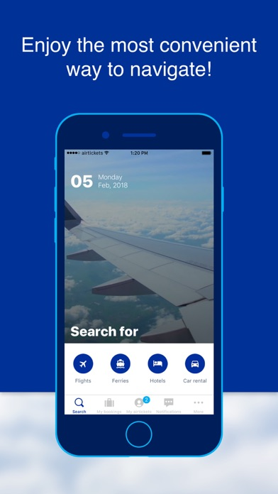 airtickets - A world to share screenshot one