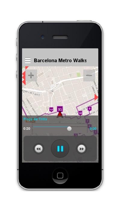 Barcelona Metro Walks - CA screenshot two