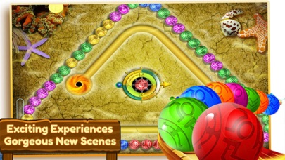 Ocean Marble Blast:Legend Shot screenshot four