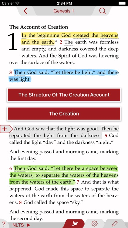NLT Study Bible screenshot-0