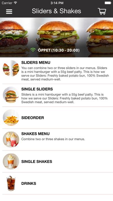 Sliders & Shakes Screenshot