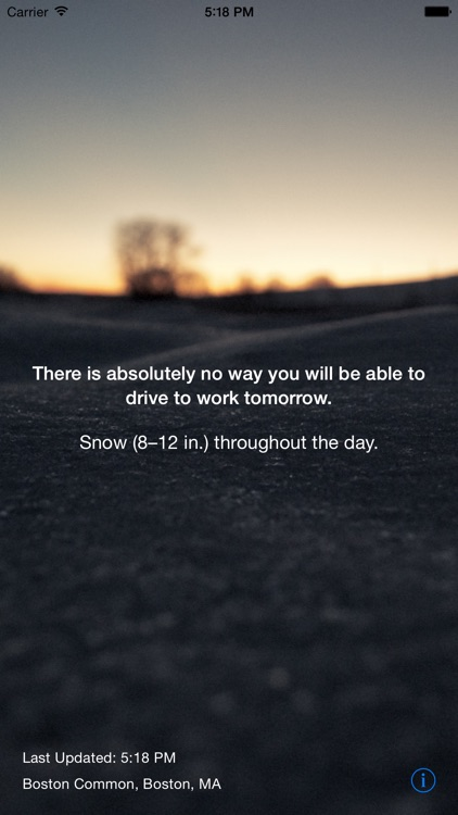 Snow Day - Can I Drive to Work screenshot-0