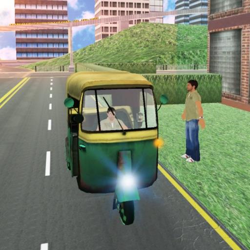 Tuk Tuk Auto Rickshaw Cab