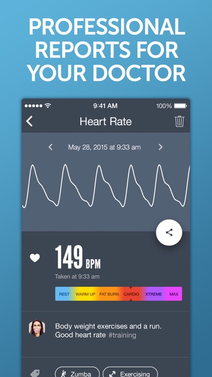 Instant Heart Rate+ HR Monitor screenshot-3