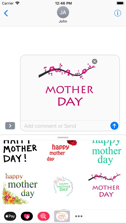 Happy Mothers Day Stickers screenshot-5