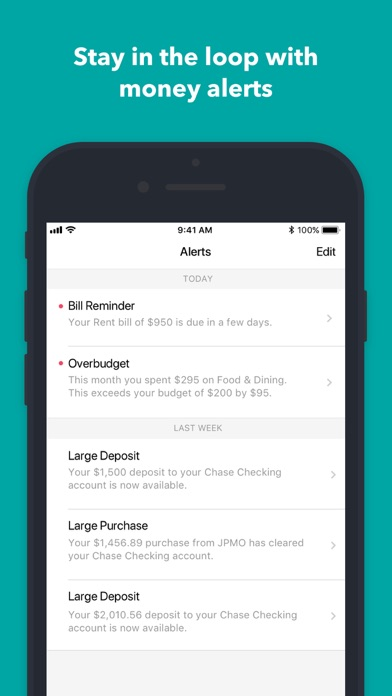 Mint:Personal Finance & Money Screenshot on iOS
