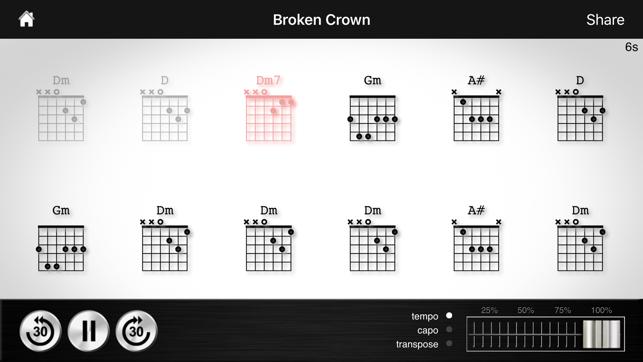 Chord Detector Guitar Ukulele Banjo On The App Store