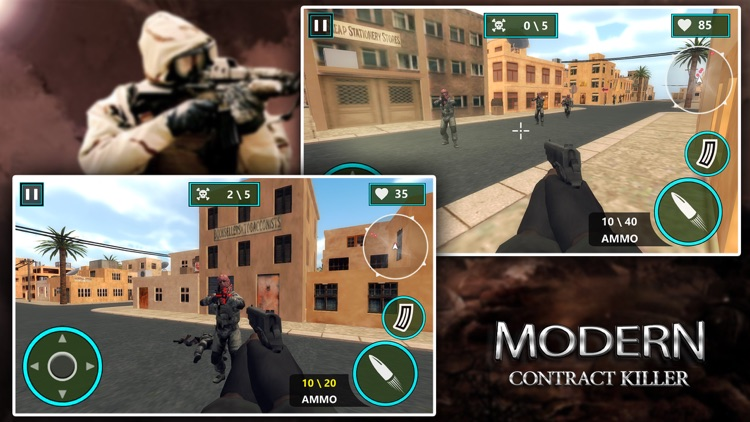 Modern Contract Killer: Gunman screenshot-3