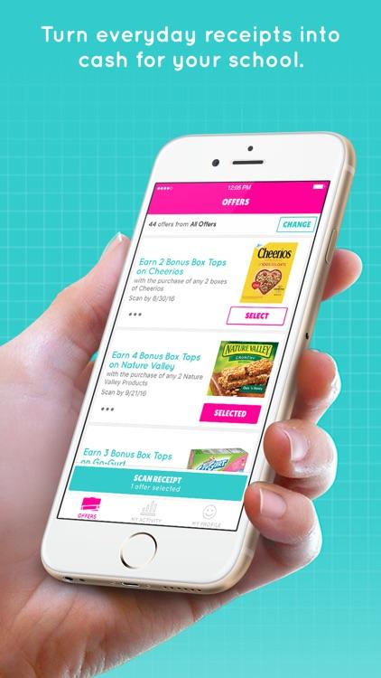 Box Tops® Bonus App – School Fundraising