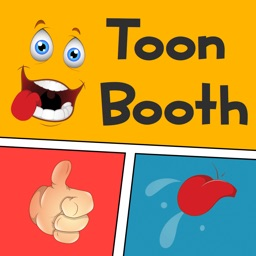 Funny Cartoon Face Photo Booth - Comic Book Photography from Crazy Toon Stickers for your Pictures