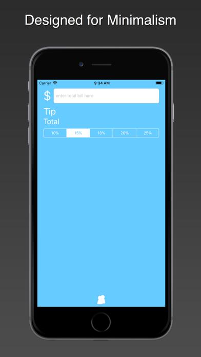 Blue Tip Gratuity Calculator 1