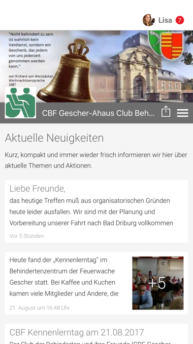 CBF Gescher-Ahaus e.V. screenshot 1