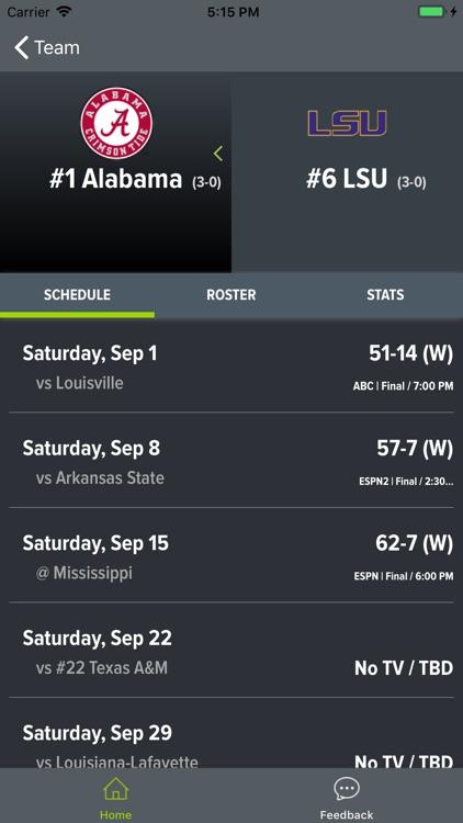 LSU Football 2018 screenshot-7