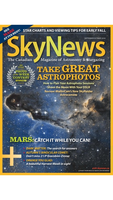 Skynews Magazine review screenshots