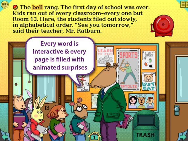Arthur's Teacher Trouble Screenshot