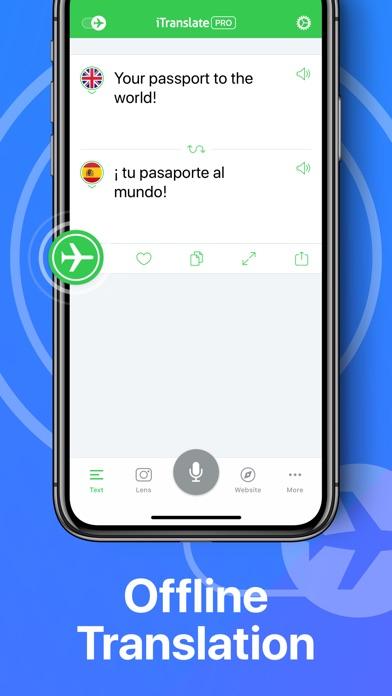 iTranslate Translator screenshot 4