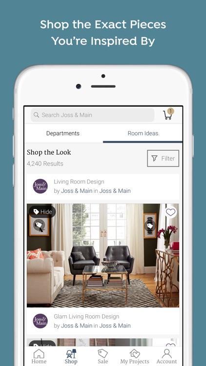 Joss & Main: Furniture + Decor screenshot-4
