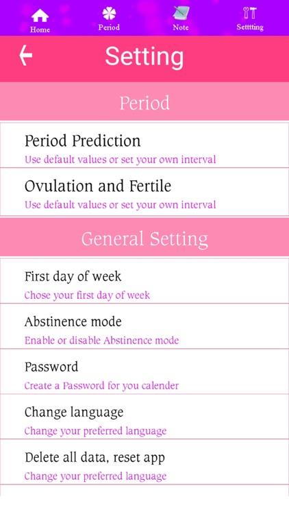 Ovulation Calendar screenshot-6