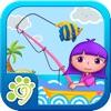小公主安娜海滨钓鱼-和朋友玩的游戏