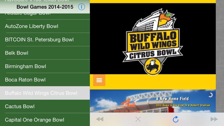 2018-2019 Bowl Games Schedule screenshot-3