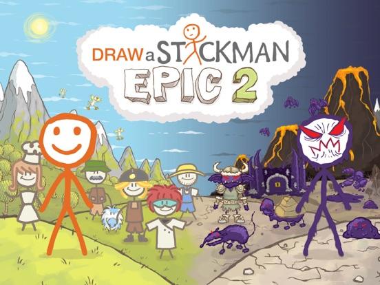 Draw a Stickman: EPIC 2 Pro на iPad