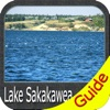 Lake Sakakawea fishing Charts