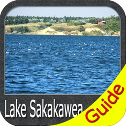 Lake Sakakawea fishing Charts