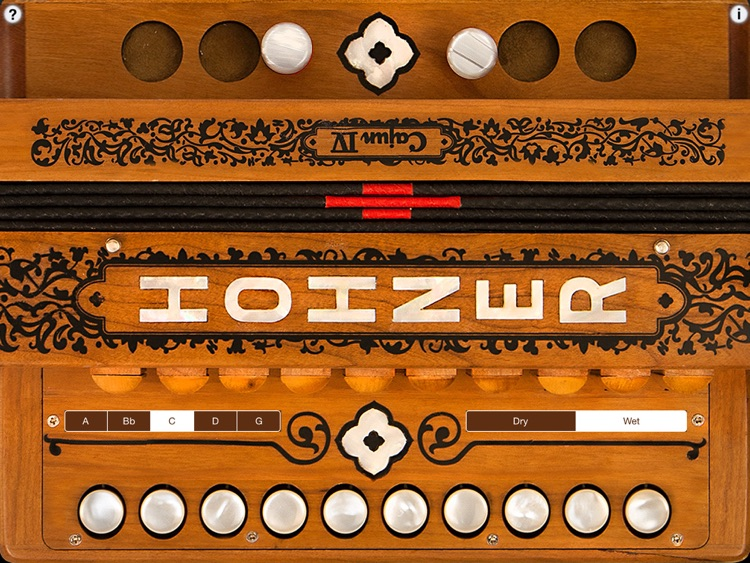 Hohner Cajun SqueezeBox screenshot-0
