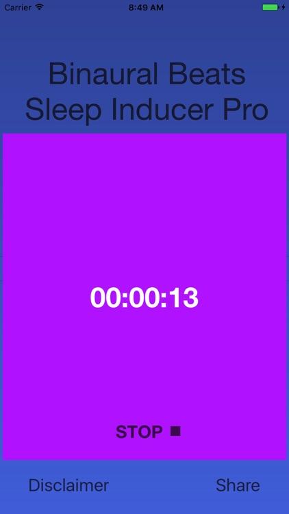 Binaural Sleep Inducer Pro screenshot-4