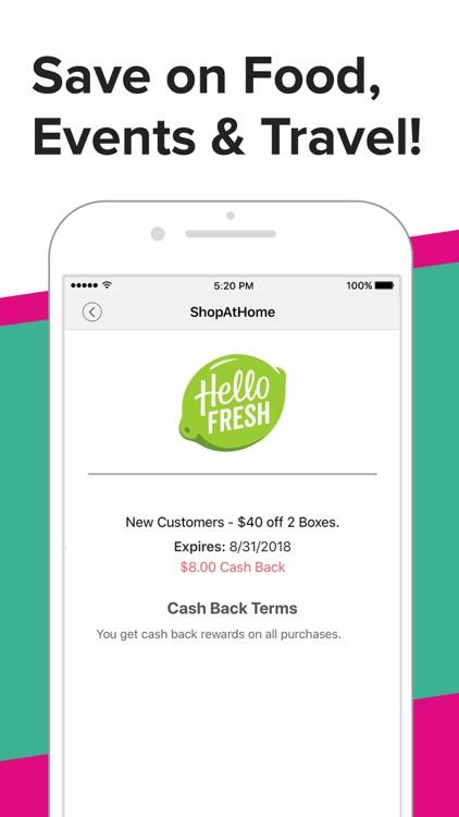 ShopAtHome Cash Back & Coupons screenshot-3