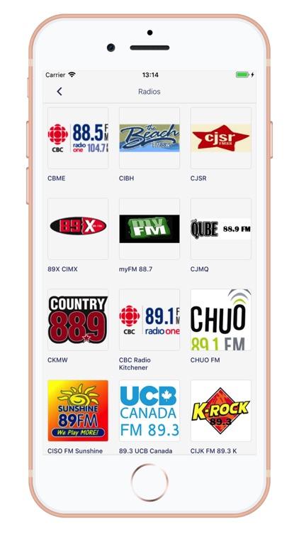 Radio Canada - AM/FM screenshot-3