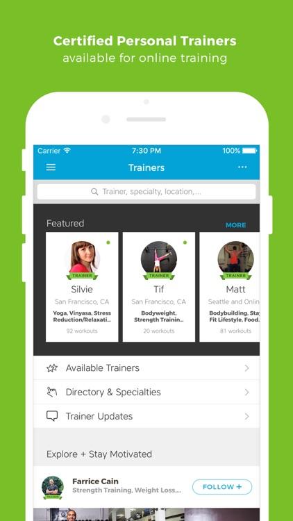 Workout Trainer: fitness coach screenshot-4
