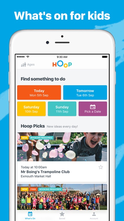 Hoop - What's on for your family