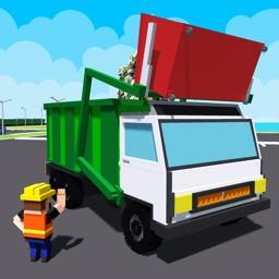 City Garbage Truck Recycle sim