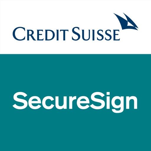 SecureSign by Credit Suisse iOS App