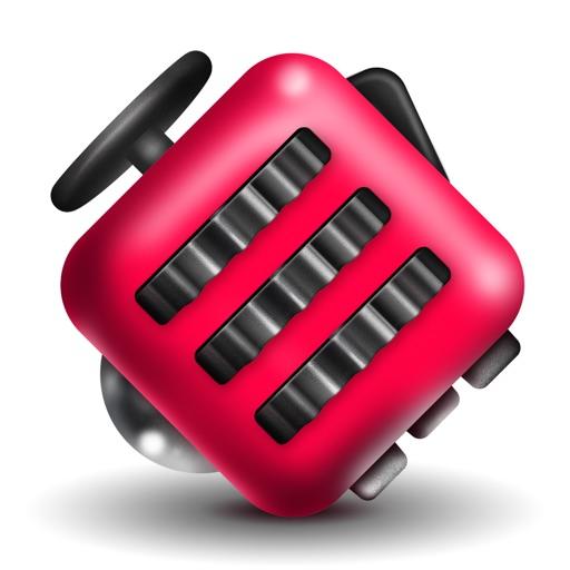 Fidget Cube - Glide, Flick & Spin Finger Simulator