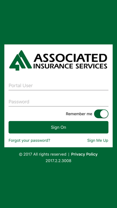 Associated Ins Services screenshot one