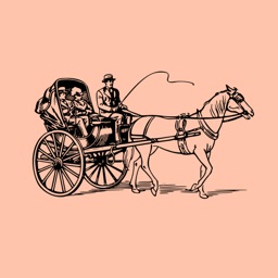 Horse and Carriage Stickers
